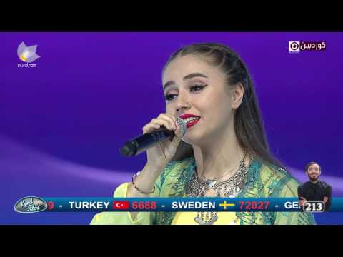 Kurd Idol - Bane Şîrwan & Cengiz Yazgi -Min Go/بانە شیروان & جەنگیز یازگی