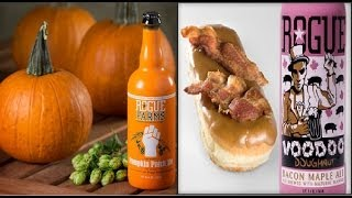 Booze Try-alls: Episode 39 - Two Rogues (pumpkin Patch & Bacon Maple)