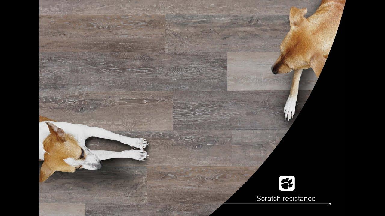 SPC flooring Scratch Resistance