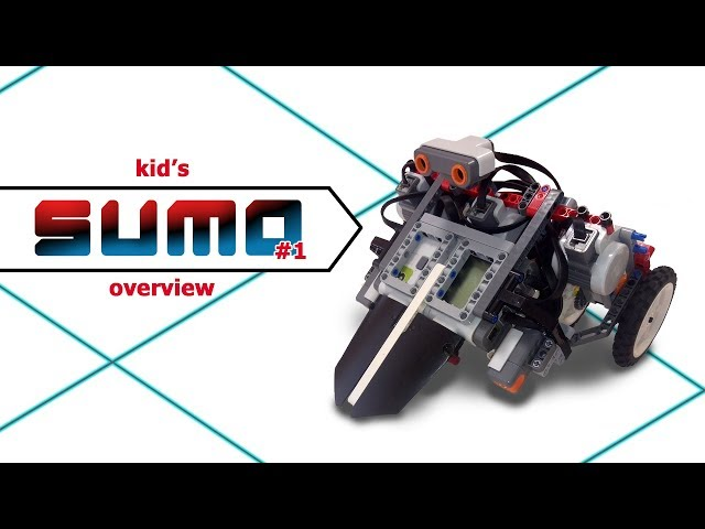 Lego SUMO bot #1 . overview