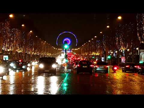 Glittering Champs-Elysees - Paris HD