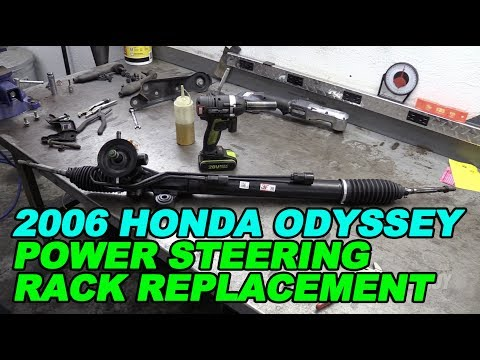 2006 Honda Odyssey Power Steering Rack Replacement