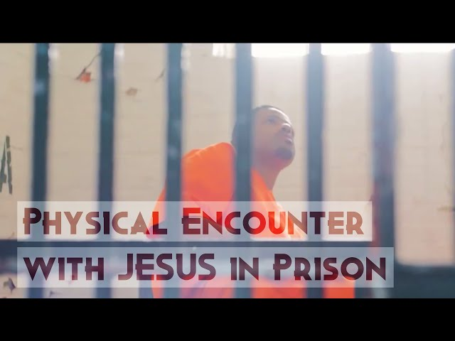 Convict Physically Encounters JESUS in Prison... Powerful Testimony!