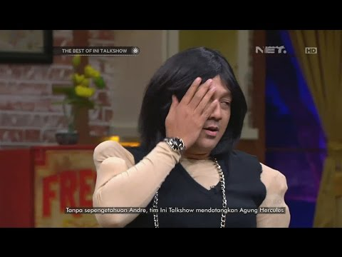 The Best of Ini Talkshow - Andre Keringetan Dipergok Agung Hercules