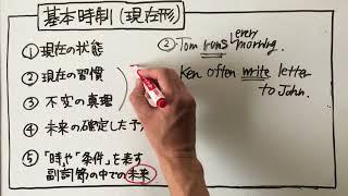 高校英語文法【めんどくさい現在形】は簡単に整理できる。「不変の真理」「時、条件を表す服施設の中での未来」