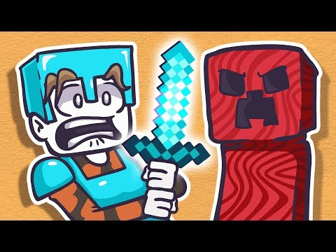 Minecraft With Pewdiepie Animated