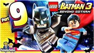 LEGO BATMAN 3 - Walkthrough Part 9 Lantern Menace Freeze!