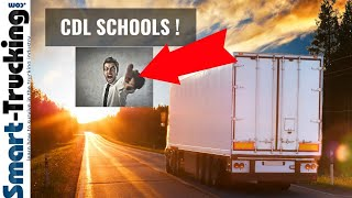 CDL Truck Driving Schools - The Good, The Bad + The Ugly