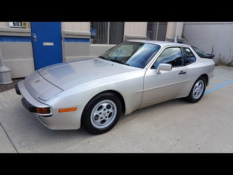 1989 Porsche 944 SOLD (#2655) Plymouth, MI