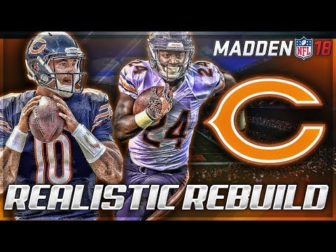 Rebuilding The Chicago Bears | Better Than 85 Bears? | Madden 18 Connected Franchise