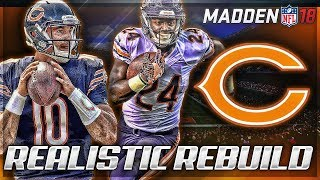 Rebuilding The Chicago Bears | Better Than 85 Bears? | Madden 18 Connected Franchise 2017 Video