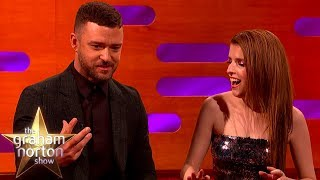 Justin Timberlake Had Bottles Of Urine Thrown At Him | The Graham Norton Show