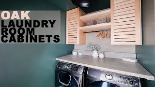 DIY Shutter Style Cabinets