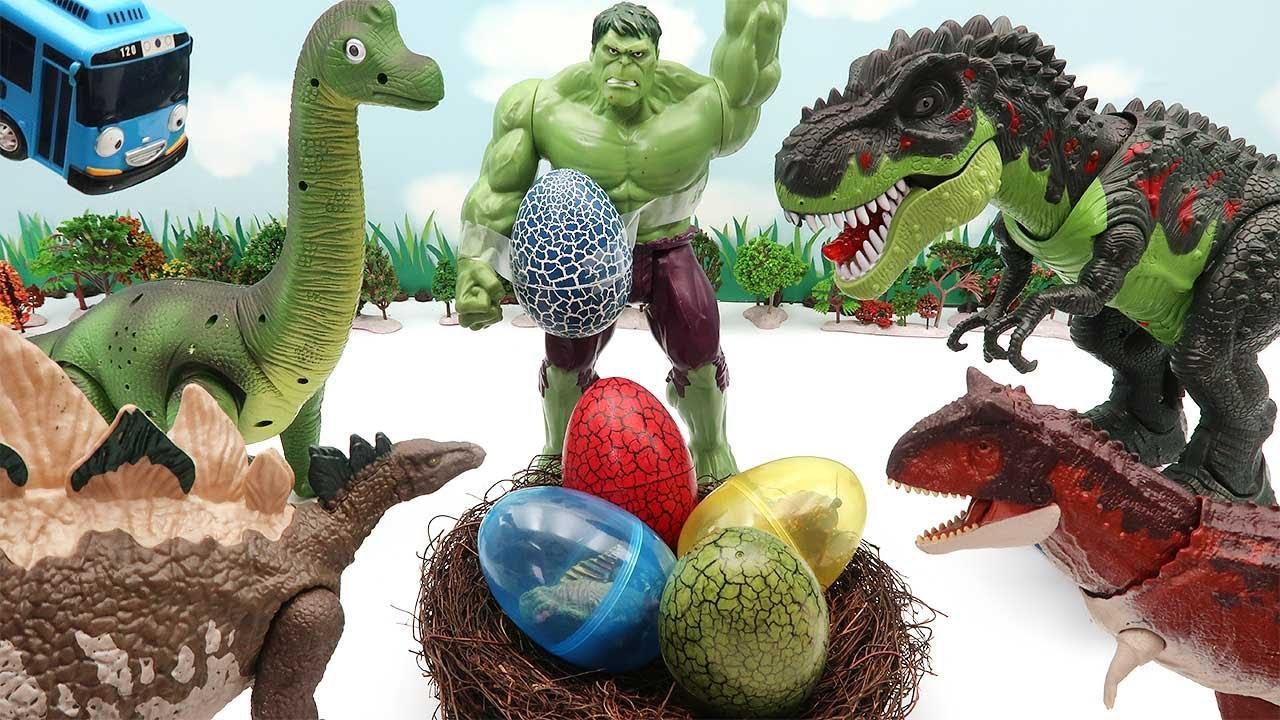 Who's Dinosaur Eggs? Jurassic Park Egg, 4D Puzzle, Transformer Dinosaur For Kids - Tyrannosaurus Rex
