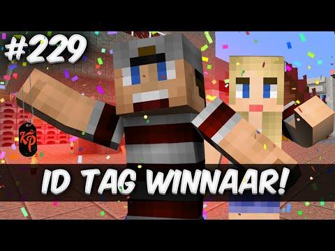 Minecraft survival #229 - ID TAG WINNAAR!