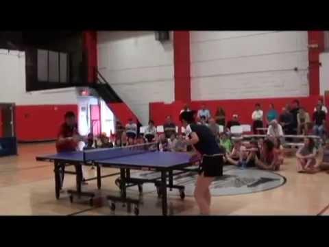 Video and Photos of Liu Nai Hui and Adam Hugh to Picatinny Table Tennis Club