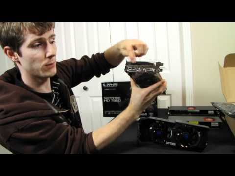 Sapphire Radeon HD 7950 OC Video Card Unboxing \u0026 First Look Linus Tech Tips