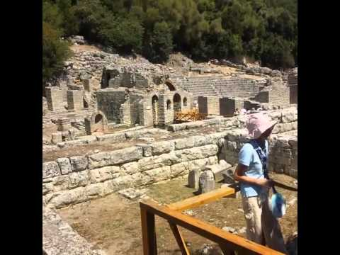 Butrint unesco national park albania