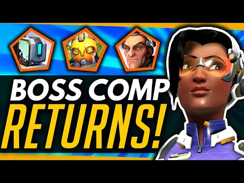 Overwatch | The Boss Comp RETURNS + The Rise Of Talon! thumbnail