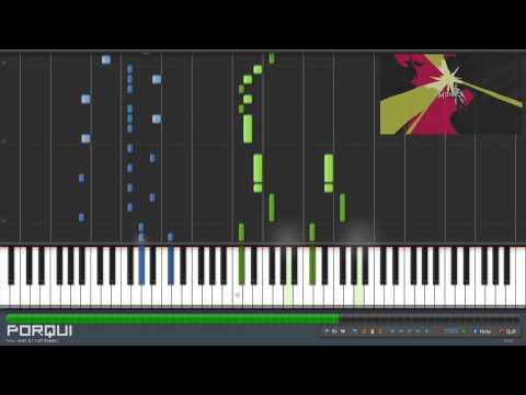 Garo: Honoo no Kokuin Opening 1 - Honoo no Kokuin -DIVINE FLAME- (Synthesia)