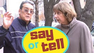 Say or Tell? Learn English with Simple English Videos