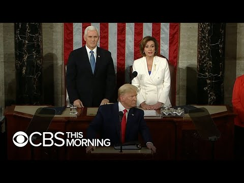 Trump-Pelosi Feud Erupts At State Of The Union