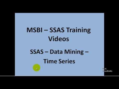 MSBI - SSAS - Data Mining - Time Series