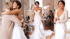 PIA'S FIRST WEDDING DRESS FITTING TRY-ON