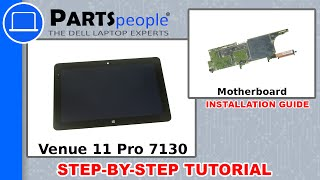 Dell Venue 11 Pro 7130 (T07G001) Motherboard How-To Video Tutorial