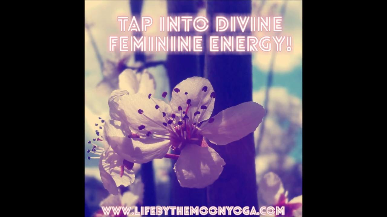 divine feminine energy meditation - YouTube