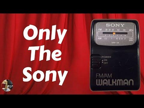 Sony SRF-39 AM FM Portable Radio Review