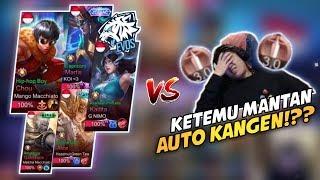 LAGI PUSH MMR GUSION MALAH KETEMU MANTAN, LANGSUNG AUTO MVP!!