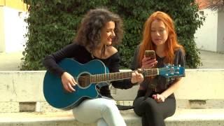 Rojitas las orejas - Extrechinato y tú (cover Ana Iglesias y Lía San Segundo)