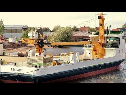 BALTRUM 2 Inselfähre Oldersum Julius Diedrich Werft DCTP MMSI 211283490 island tender cargo ferry