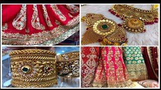 Bridal Lehengas from Rs.1,200 &  Kundan, Rajwadi Jewellery from Rs.55, Malad BMC Market