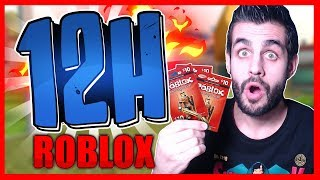 12 HOURS PLAYING ROBLOX! - PART 2 KraoESP