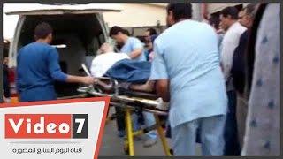 نقل الحالات الحرجة من مستشفى الدمرداش