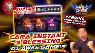 RITUAL 3 BLESSING BERTURUT! DUIT AUTO 101! MAGIC CHESS MOBILE LEGENDS