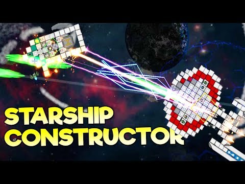 SURVIVE IN SPACE, BECOME RICH, BUILD THE MOST EPIC STARSHIP! - Starship Constructor Gameplay