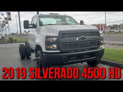2019 SILVERADO 4500HD Exterior Overview