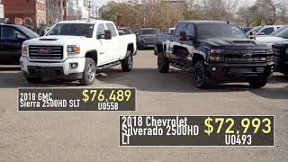 2018 Vehicle Discounts - Truck | Don Wheaton Chevrolet Buick GMC Cadillac