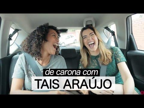 #DECARONA TAIS ARAUJO   Racismo no showbiz, representatividade, paquera com Lázaro, botox e mais!