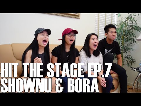 Hit the Stage - Shownu & Bora (Reaction Video)