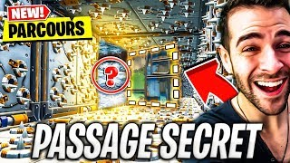 🔥 OUR PARCOURS IMPOSSIBLE ESCAPE GAME PASSAGE SECRET! Fortnite Creatif
