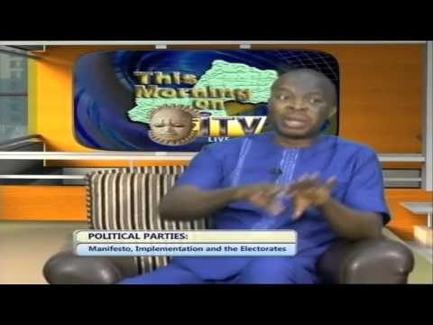 Political Parties: Manifesto, Implementation And The Electorate
