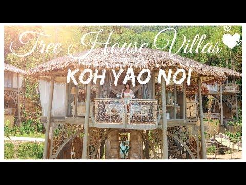 TREEHOUSE VILLAS KOH YAO NOI THAILAND LUXURY RESORT