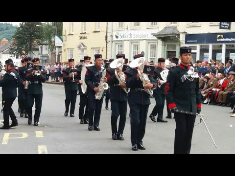 The Band of the Brigade of Gurkhas - Marching Display, Brecon 2017
