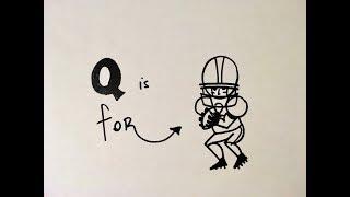 How to Draw a Quarterback