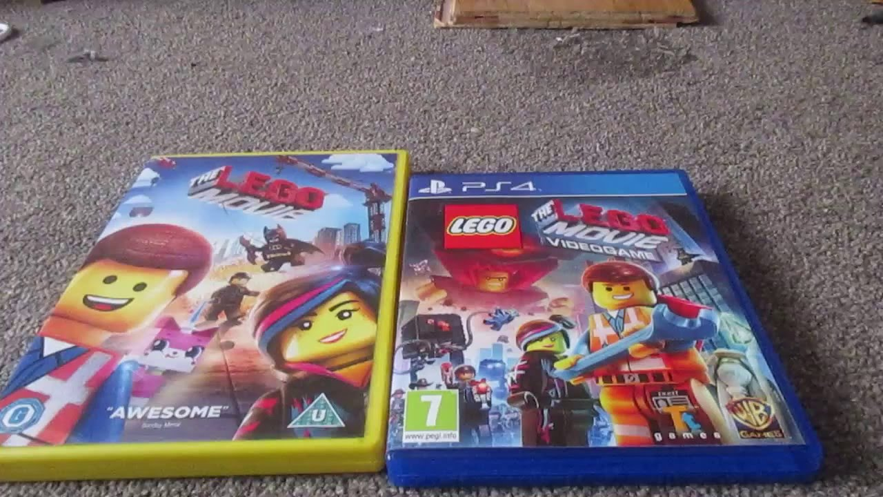 The Lego Movie Dvd And Video Game Uk Unboxing Youtube