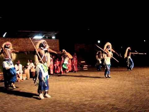 Ugandan Folkloric music and dancing